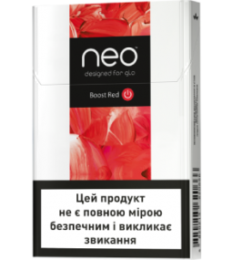 Стики glo Kent Neostiks Boost Red