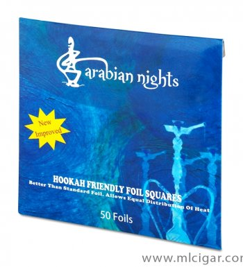 Фольга для кальяна Arabian Nights Soex Aluminium Foil