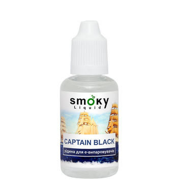 Э-жидкость SMOKY Captain Black 3 мг/12 мг/30 мл