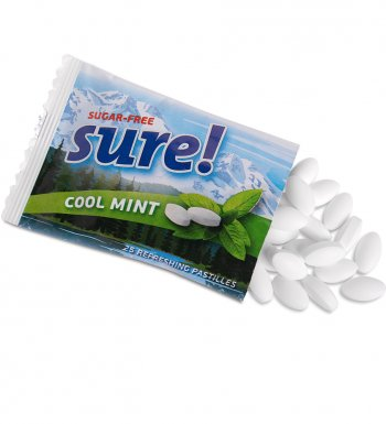 MINTS SURE! Cool mint sugar free 18 г
