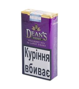 Сигариллы Deans Cigars Wild Berry (20 шт.)