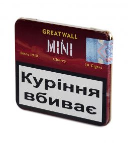 Сигариллы Greatwall Mini Cherry (10 шт.)