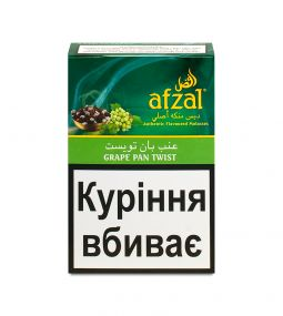 Табак для кальяна Afzal - Grape Pan Twist