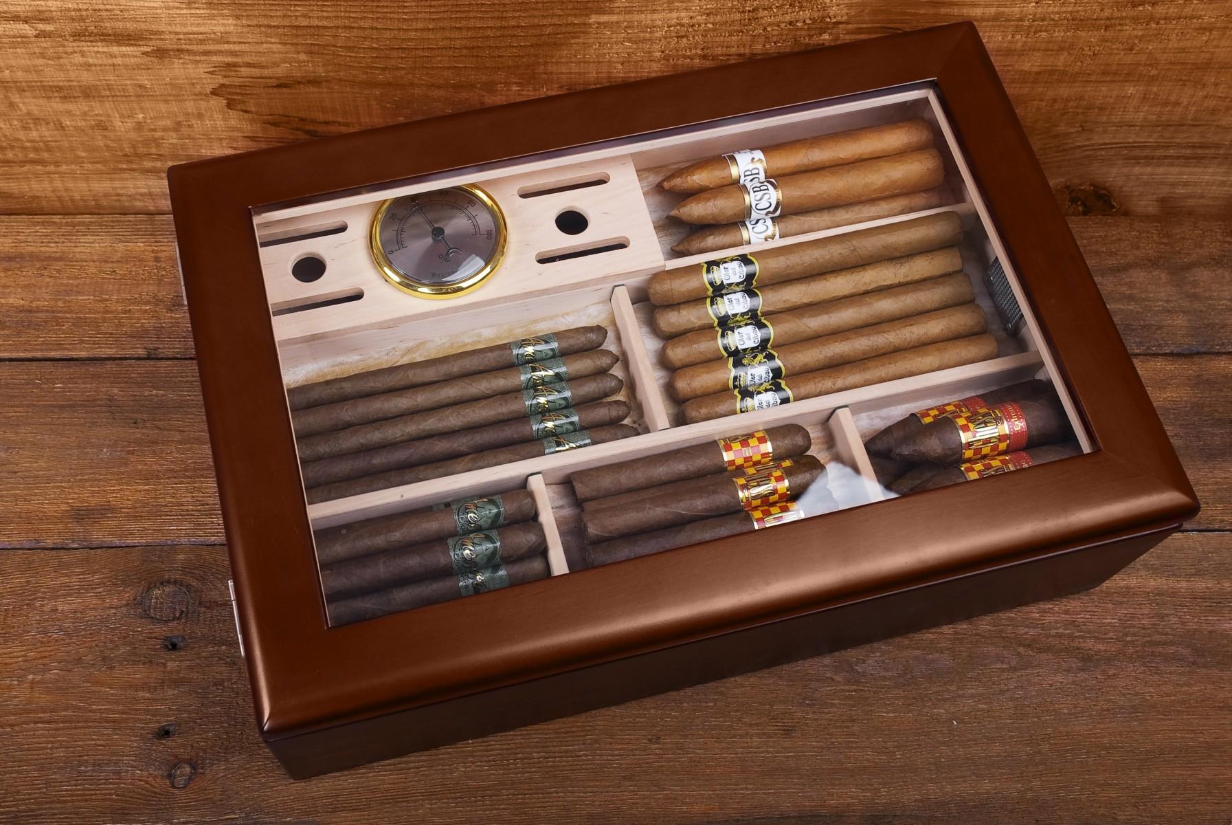 Хьюмидор - с заботой о сигарах